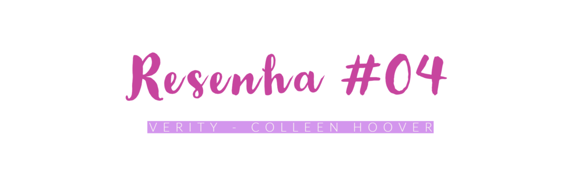 resenha verity colleen hoover